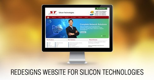 Dharne & Co. redesigns website for Silicon Technologies