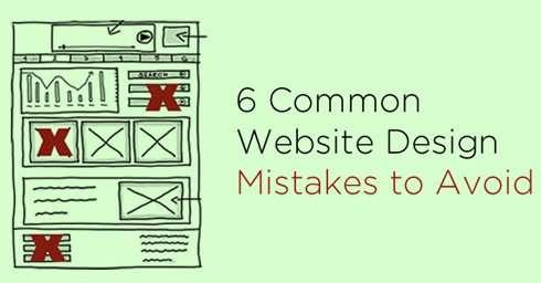 6 Common Website Design Mistakes to Avoid