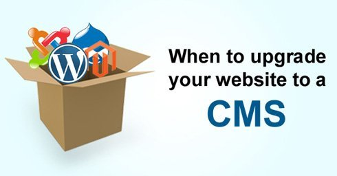 When to upgrade your website to CMS