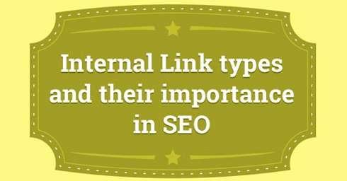 Internal Link types