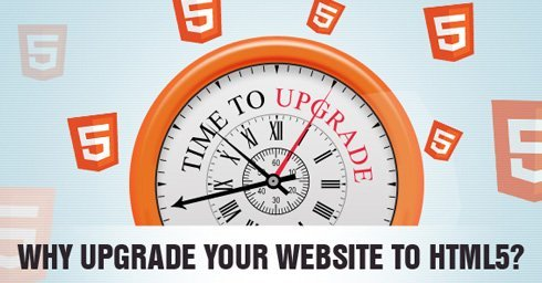 why upgrade your website to html 5