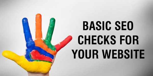 5 basic SEO checks for website