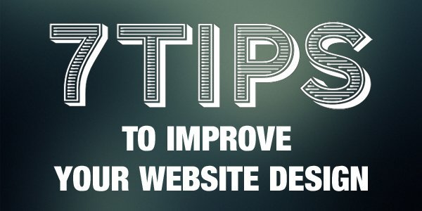 Tips to improve your website design