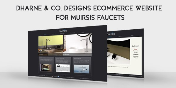 Ecommerce Website for Muirsis Faucets
