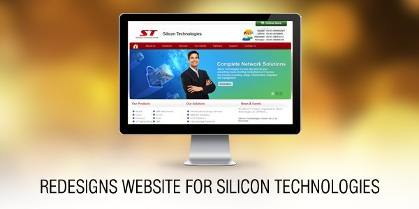 Dharne and Co redesigns website for Silicon Technologies