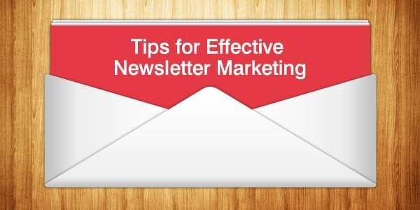 Tips for Newsletter Marketing