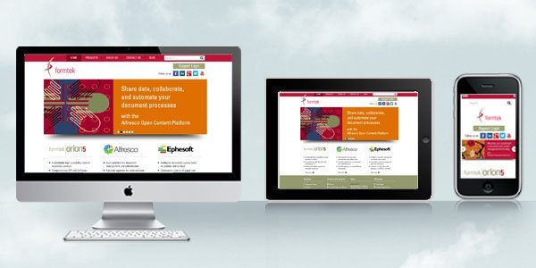 Dharne and Co redesigns website for Formtek