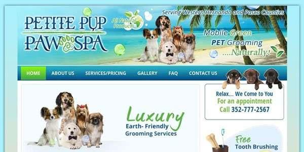 Petite Pup Paw Spa