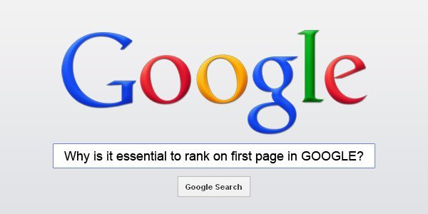 First page ranking in GOOGLE